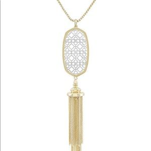Kendra Scott Rayne Filigree Necklace - Gold/Silver